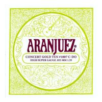 Thumbnail van Aranjuez AR1007 Narciso Yepes 7th string (C), bronze-wound .053