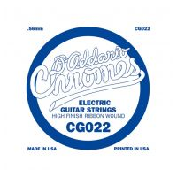 Thumbnail van D'Addario CG022 Chromes .022 single electric guitar