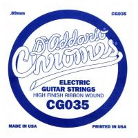 Thumbnail van D'Addario CG035 Chromes .035 single electric guitar