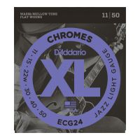Thumbnail van D'Addario ECG24 Chromes Light