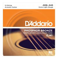 Thumbnail van D'Addario EJ41 Extra Light Phosphor bronze