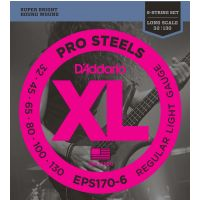 Thumbnail van D'Addario EPS170-6 XL ProSteels Extra Super Light