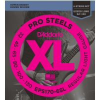 Thumbnail van D'Addario EPS170-6SL (Super Long) XL ProSteels