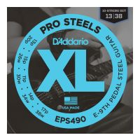 Thumbnail van D'Addario EPS490 E-9TH Super bright Round wound