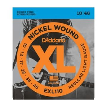 Preview van D'Addario EXL110 XL nickelplated steel