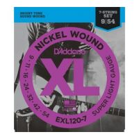 Thumbnail van D'Addario EXL120-7 XL nickelplated steel