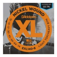 Thumbnail van D'Addario EXL140-8 XL nickelplated steel