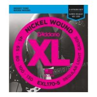 Thumbnail van D'Addario EXL170-5 XL nickelplated steel