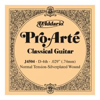 Thumbnail van D'Addario J4504 Pro-Arte Nylon Classical Guitar Single String, Normal Tension, D Fourth String