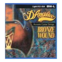 Thumbnail van D'Angelico BW-L Light 012-54 Bronze wound 80/20