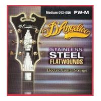 Thumbnail van D'Angelico FW/M Medium Stainless steel flatwound