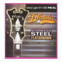 Thumbnail van D'Angelico FW/XL Extra light Stainless steel flatwound