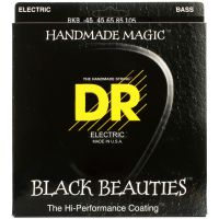 Thumbnail van DR Strings BKB-45 Black Beauties Black coated