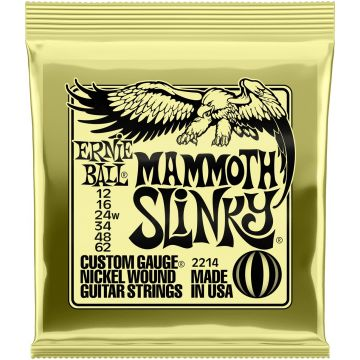 Preview van Ernie Ball 2214 Mammoth Slinky Nickel plated steel