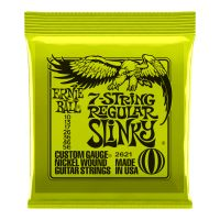 Thumbnail van Ernie Ball 2621 Regular Slinky 7-string Nickel plated steel