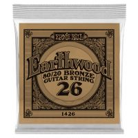 Thumbnail van Ernie Ball eb-1426 Single Earthwood Wound 80/20 bronze 026