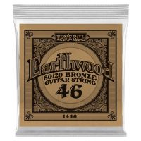 Thumbnail van Ernie Ball eb-1446 Single Earthwood Wound 80/20 bronze 046