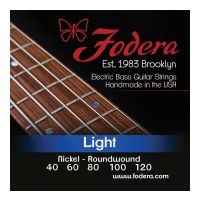 Thumbnail van Fodera N40120TB Light Nickel, 5 string Tapered B