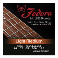 Thumbnail van Fodera N44125TB Light Medium Nickel, 5 string Tapererd B