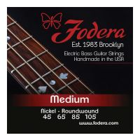 Thumbnail van Fodera N45105 Medium Nickel,