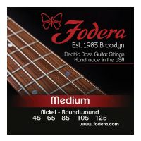 Thumbnail van Fodera N45125XL Medium Nickel, 5 string  Extra long scale