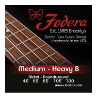 Thumbnail van Fodera N45130TB Medium Nickel, 5 string Tapered B