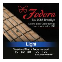 Thumbnail van Fodera S40120XL Light Stainless, 5 string Extra long scale