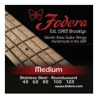Thumbnail van Fodera S45125 Medium Stainless,  5 string