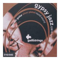 Thumbnail van Galli GSB10 Gypsy Jazz Light Silver plated roundwound