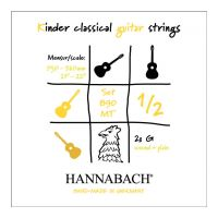 Thumbnail van Hannabach 890 MT 1/2 (plain and wound 3rd string included)