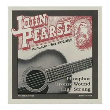 Preview van John Pearse 620HS Phosphor Bronze wound High Strung