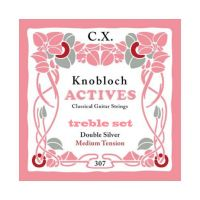 Thumbnail van Knobloch 307CX Knobloch Actives medium Double Silver CX Treble set