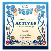 Thumbnail van Knobloch 407 CX Knobloch Actives High tension Double Silver CX BASS set