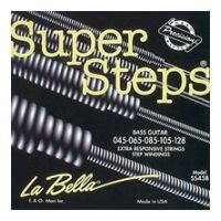 Thumbnail van La Bella SS45B Super Steps 5 String Round wound