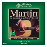 Thumbnail van Martin M500 extra light 12 String Phosphor bronze wound