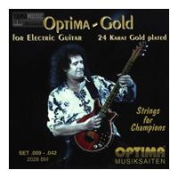Thumbnail van Optima 2028BM Brian May 24 Karat gold