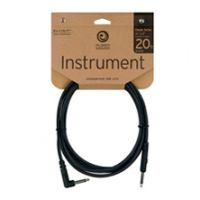 Thumbnail van Planet Waves CGTRA20 Guitar/Intrument Cable Classic Nickel Angle/Jack 6M