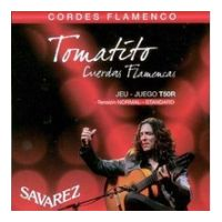 Thumbnail van Savarez Tomatito T50R  Flamenco Normal Tension