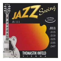 Thumbnail van Thomastik JS111 Jazz Swing Flat wound