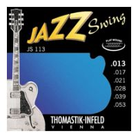Thumbnail van Thomastik JS113 Jazz Swing Flat wound
